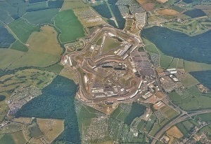 Getmapping aerial image of Silverstone Grand Prix July 2015