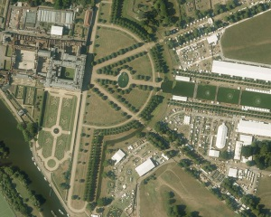 Getmapping's High resolution of Hampton Court Flower Show July 2015