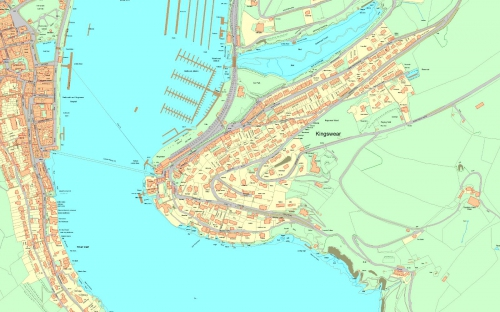 Image of OS MasterMap topographical mapping