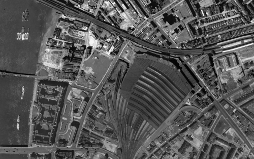 Image of historic aerial imagery