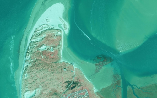 Image of infrared aerial imagery