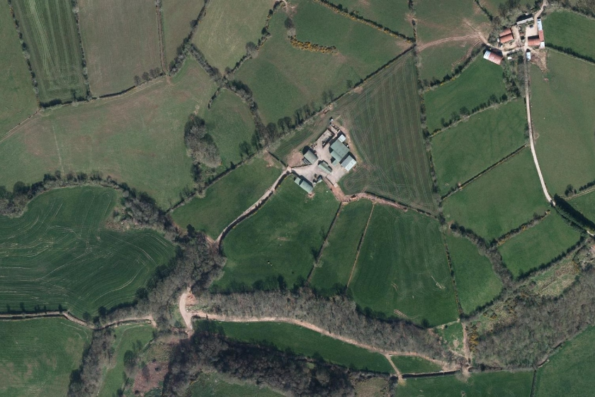 Image of vertical aerial imagery Northern Ireland