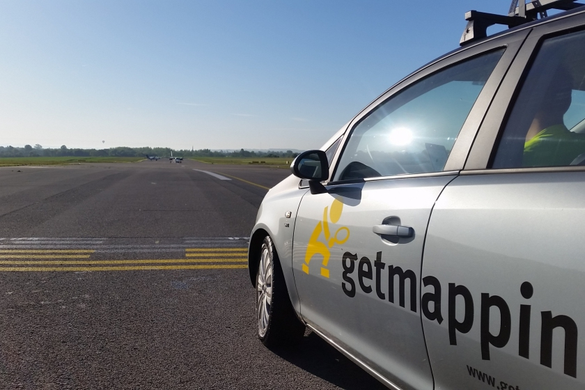Image of Getmapping Street Layer Survey car