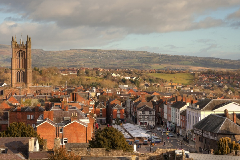 Image of Ludlow in Shropshire