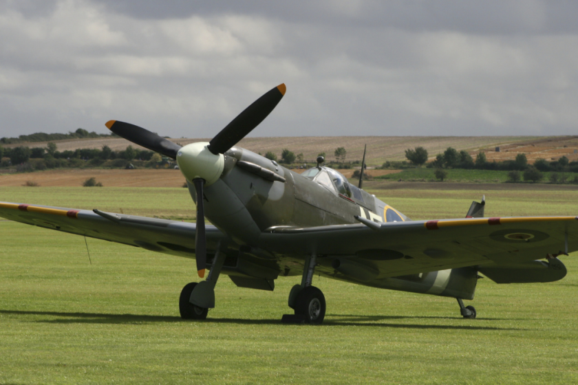 Image of a plane at the Imperial War Museum in Duxford
