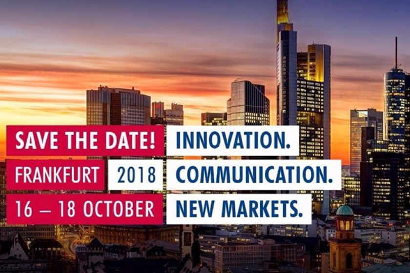 Getmapping are exhibiting at the INTEREGEO event in Frankfurt in October 2018