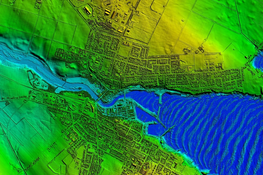 Image of LiDAR data from Atkins Global