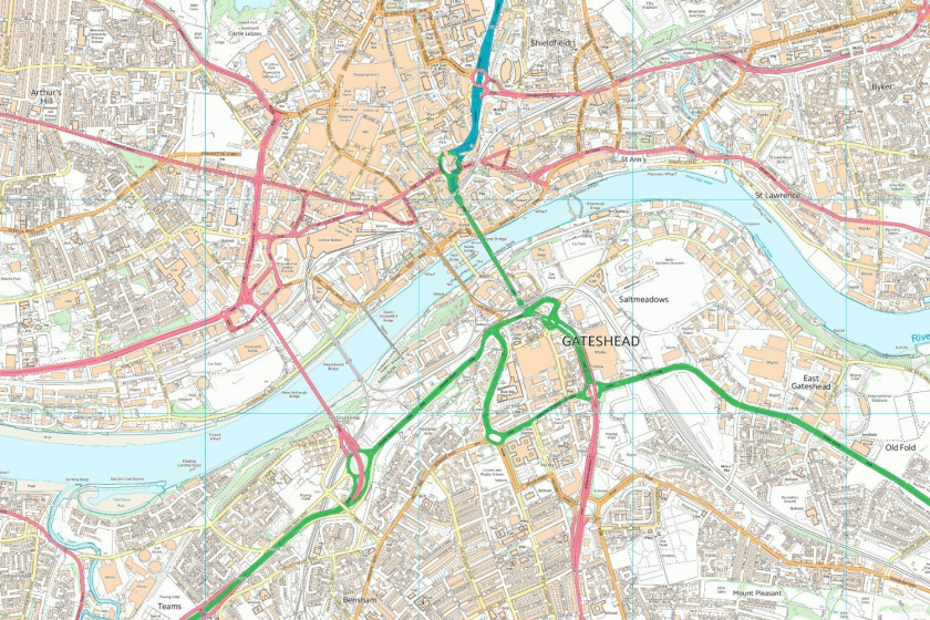 Image of OS Vertical Map Local Mapping