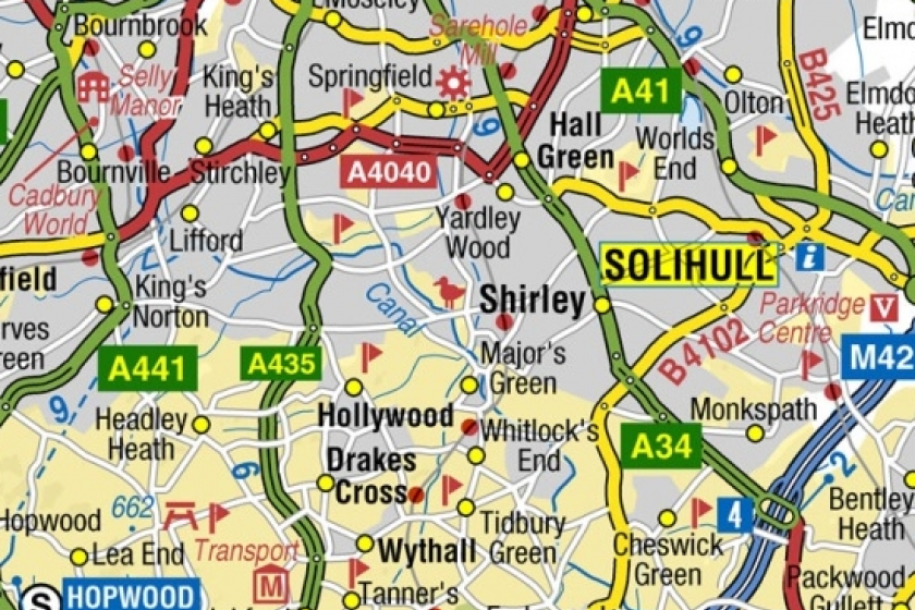 image of A-Z road mapping