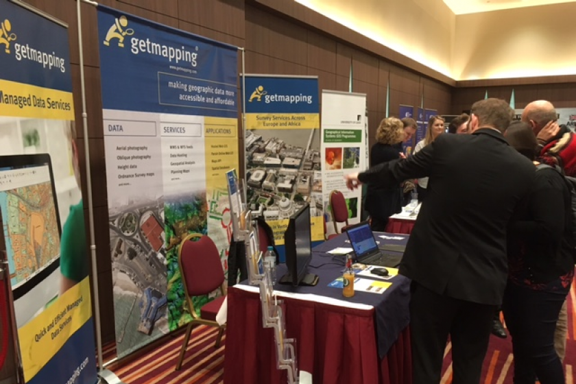 Image of Getmapping exhibiting at the London geodata event in December 2016