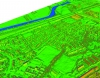Image of LiDAR data from Bluesky